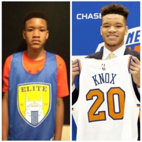 Before he was a 2018 lottery pick, Kevin Knox Jr was a 2014 CREI attendee.