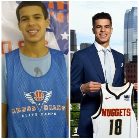 2018 NBA lottery pick Michael Porter Jr was first seen by ESPN at the 2013 CREI.